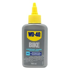 WD-40 BIKE Lubrifiant Chaîne Conditions Humides 100ml