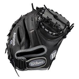 Wilson A2000 1790 SuperSkin 34″ Catcher's Baseball Mitt – Right Hand Throw