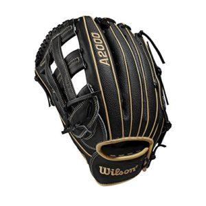 Wilson A2000 1799 SuperSkin 12.75″ Outfield Baseball Glove – Left Hand Throw