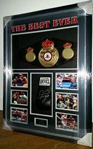 www.SignedMemorabiliaShop.co.uk Floyd Mayweather Gant et Ceinture de Boxe WBA avec COA en Ligne