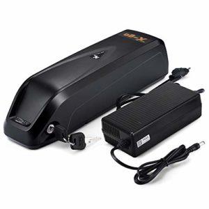 X-go Batterie de Bicyclette électrique 36V 10.4Ah Hailong Lithium E-Vélo Batterie Pack de bicyclettes électriques avec Chargeur