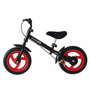 YZY Vélo d'équilibre pour Les Enfants de 3 à 6 Ans, vélo d'entraînement sans pédales Guidon/siège réglable avec Roue légère (Color : A)
