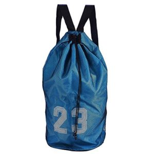 Zyyini Sac de Ballon, entraînement de Sport de Football de Football de Basket-Ball exerçant Le Sac de Cordon d'épaule de Sac à Dos(1#)