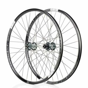 26″/27.5″ inch Mountain Bike Wheelset Frein à Disque 6 CLIQUET 72 Click Quick Release (Color : Gray, Size : 26″)