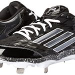 adidas Performance pour Femme PowerAlley 2 W Softball Taquet – Noir – Black/Carbon/White,