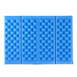 BESPORTBLE 2pcs Tapis de Coussin de siège en Mousse xpe Pad Pliable imperméable à l'eau étanche à l'humidité siège Coussin avec Sac de Rangement pour Camping Parc de Pique-Nique (Bleu)