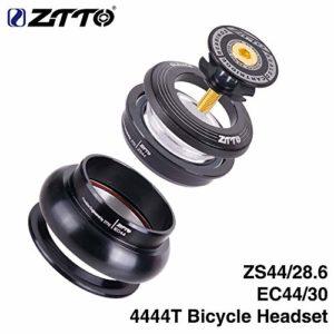 ETbotu ZS44 Casque de vélo pour VTT, Jeu de Coussinets intérieurs sans Filetage pour Fourche CNC 4444T
