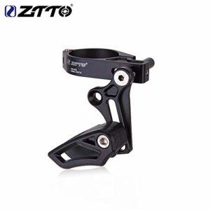 ETbotu ZTTO Guide-chaîne de vélo de Montagne avec Support de chaîne Direct Mount E Type réglable pour VTT Gravel Bike