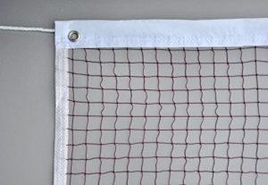 Filet de badminton solide et résistant, traité anti UV
