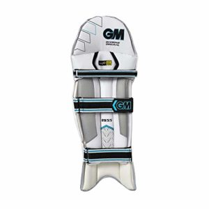 Gunn & Moore Diamond 808-Bs55 Pad de Batteur, Mixte, 5S342018, Blanc, Junior LH