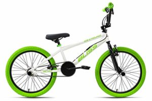 KS Cycling BMX Freestyle 20 » Blister Blanc 28 cm