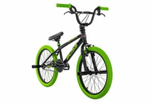 KS Cycling BMX Freestyle 20 » Blister Noir/Vert 28 cm