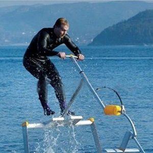 Lelantus Aqua l'eau skipper skipper surf scooter des mers d'oiseaux d'eau de l'outil de remise en forme