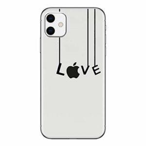 LPZOOOM Coque iPhone 11, iPhone 11 Housse Ultra Transparente Silicone en Gel TPU Souple Case Cover Anti-Scratch Adhérence Parfaite Élégant intéressant Conception Étuis Coque Compatible avec iPhone 11