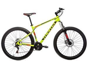 Moma Bikes, Vélo VTT, PLUS 27,5″, Aluminium, SHIMANO 21V, Freins a Disque, Suspension Avant (Plusieurs tailles)