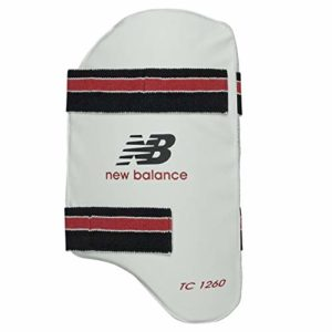 New Balance 9TC1260T TC 1260 Protège-Cuisse de Cricket Adulte, Blanc, Adult Right Hand
