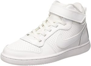 Nike Court Borough Mid (PSV), Baskets Hautes garçon,Blanc (White 101), 28 EU