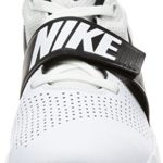 Nike Team Hustle D 8 (GS), Chaussures de Basketball garçon, Multicolore (White/Black 100), 38.5 EU