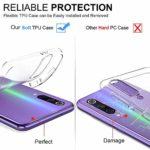 Oihxse Compatible pour OnePlus 6 Coque [Mignon Transparente Éléphant Lapin Motif Séries] Housse TPU Souple Protection Étui Ultra Mince Anti Choc Animal Case (A7)