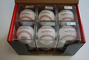 Rawlings Dozen ROMLBOD15 Opening Day Major League Official ROMLB Baseball w/Cube