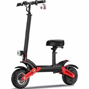RXRENXIA Vélo Électrique, Deux Roues du Véhicule Électrique Intelligent Scooter Léger Et Pliant en Aluminium Vélo avec des Pédales pour Adultes Aventure De Plein Air