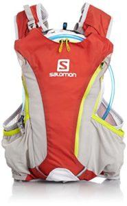Salomon Skin Pro Sac à Dos Taille Unique Multicolore – Bright Red/White/Gecko