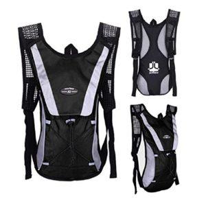 Tonsee® L'eau Vessie Sac sac à dos Hydratation Camelbak de Packs Randonnée Camping 2L (Noir)