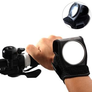 Vélo Miroir au bras, Rétroviseur universel pour le poignet, portable et réglable Bike Mirror Fur de Course électronique, vélo, VTT