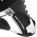 Venum Elite, Chaussures de Boxe Mixte Adulte,Noir / Argent,38,5