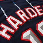 Veste de Basket-Ball à séchage Rapide pour Hommes d'été James- Harden # 13 Houston- Rockets-S
