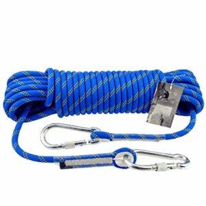 WJSW Corde d'escalade pour Corde d'escalade, Corde de Chanvre, Corde de Sauvetage en Plein air, 10,5 mm, matériau en Nylon, Escalade, Descente, équipement d'alpinisme