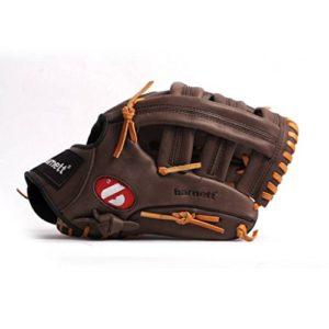 barnett GL-130 gant de baseball cuir de compétition outfield 13, pour droitier REG, marron