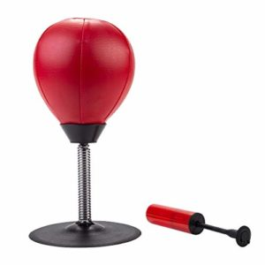 Engelhart – Sac de Frappe Anti-Stress Punching Ball de Bureau 17 cm x 34 cm – 704015