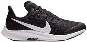 Nike Air Zoom Pegasus 36 (GS), Sneakers Basses Mixte Enfant, Noir (Black/White-Thunder Grey 001), 35 EU
