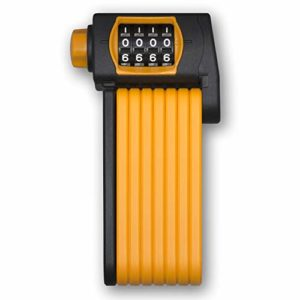 Osmose OUT – TONYON – Antivol Vélo et Moto pliable à combinaison – Cadenas avec code 4 chiffres personnalisable, il ne nécessite pas de clé. Compact pour le rangement et d'aspect dissuasif