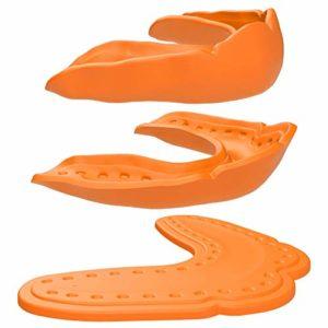 ShockDoctor protège dents MicroFit Orange – Adulte