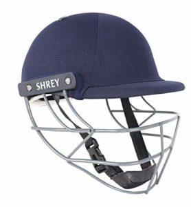 SHREY Performance 2.0-Steel Navy Large Cricket Helmet Casque Mixte, Bleu Marine, L