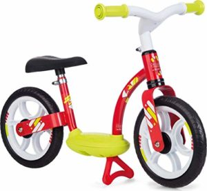 Smoby – 770122 – Draisienne Confort – Selle Réglable + Roues Silencieuses – Rouge