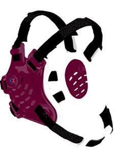 Tornado Headgear, Maroon/White/Black