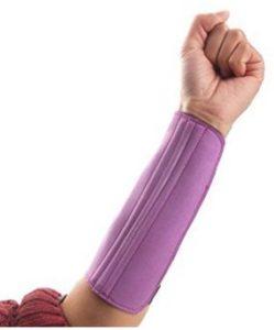 5cinq tir à l'arc tir Chasse le double bras Guard 3Sangle protection, violet