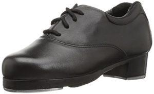 Capezio K534 Chaussures de Robinet Oxford pour Homme – Noir – Noir, 4 M US