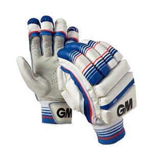 Gunn and Moore 303de Garçon Main Gauche Gants de Batteur, Enfant, 303 Left Hand, Bleu, Junior