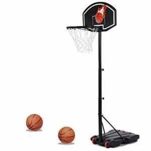 IDMarket – Panier de Basket sur Pied Hauteur réglable
