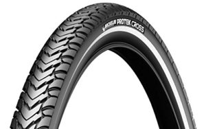 MICHELIN Protek Cross Pneu de VTC Mixte Adulte, Noir, 700 x 35C
