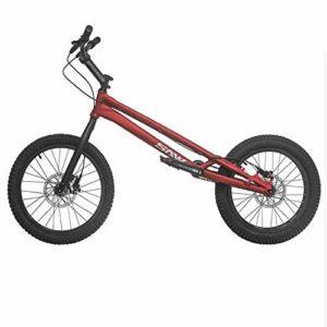 TX Biketrial Style Libre Épreuves De Vélo De Montagne Sport Extrême Freins À Disque 20 Pouces Sports De Plein Air,Red