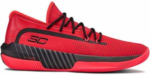 Under Armour Sc 3zer0 Iii, Basketball homme – Rouge (Red/Jet Gray/Black (601) 601), 50.5 EU