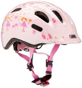 Abus Smiley 2.0 Casque pour vélo Fille, Rose Princess, 50-55 cm