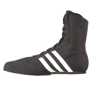 adidas Box Hog 2 Junior Bottes de Boxe, Noir, 41 3
