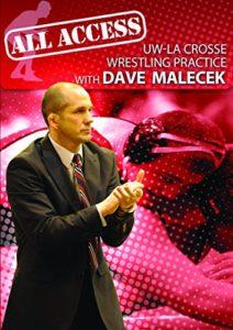 All Access Uw-la Crosse Wrestling Pratiquer avec Dave Malecek (DVD)