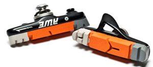 AWE® Noir Cassette Route Frein Blocs Gris/Orange/Blanc 55mm